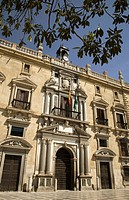 Real Chancilleria, Plaza de Santa Ana. Granada, Andalucía, Spain.