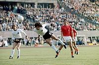 SG Sport hist , Fußball, Weltmeisterschaft, WM 1974, WM Endrunde, Gruppenspiel, Deutschland gegen Chile, 1:0 in Berlin West, Deutschland, 14 6 1974, S...