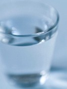 Close_up of glass of water