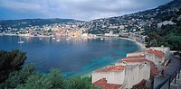 View of Villefranche sur Mer, France