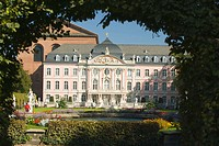 Kurfurstliches Palais-considered one of the most beautiful Rococo palaces in the world.Trier-one of Germany's oldest towns, Western Germany