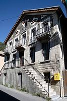 Château-Ville-Vieille. Queyras. Hautes-Alpes. France.
