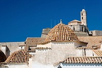 Church of Santo Domingo, Dalt Vila, Ibiza. Balearic Islands, Spain