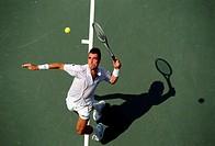 Lendl, Ivan, * 7 3 1960, US Sportler Tennis, Ganzfigur, bei den US Open, Flushing Meadows, New York, 1989, Tennisspieler, Spieler, Tennisschläger, Gra...