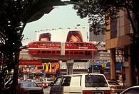 KL Monorail, Kuala Lumpur, Malaysia