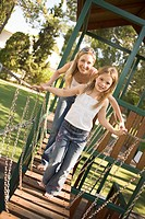 Mother and daughter in Park (thumbnail)