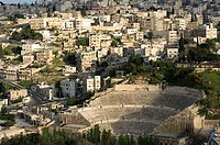 Jordan, Amman, city-opinion, Roman theater, Near east, city, capital, city, sight, ruin, remains, architecture, historically, amphitheaters, culture,