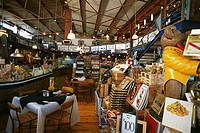 South Africa, province west-cape Knysna Waterfront delicatessen-stores, restaurant ´34° South´ Africa cape-province coast economy, retails, trade, sal...