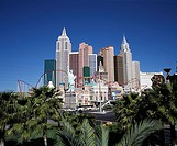 USA, Nevada, Las Vegas, hotel, Casino, 'New York New York', no property release, series, North America, West coast, city, player-city, amusement-cente...