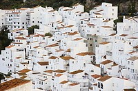Spain, Andalusia, Casares, city-opinion, Europe, Iberian peninsula, city, destination, architecture, buildings, houses, knows, roofs, brick-roofs,