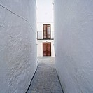 Narrow street, Quesada. Jaén province, Andalusia, Spain