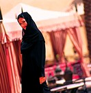 Smiling Arab woman (thumbnail)