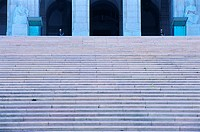 Stairs at National Assembly Palace, Lisbon, Portugal