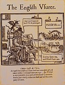 money / finance, banking / lending, moneychanger, The English Usurer, epistle, by John Calvin, 1509 _ 1564, leaflet, woodcut, London, Great Britain, 1...