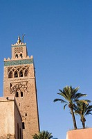 Minaret of Koutoubia. Marrakesh. Morroco