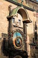 Astronomical Clock on Old Town Hall, Prague, Czech Republic
