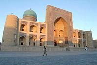 Uzbekistan, Bukhara, Mir-i-Arab Madrasah
