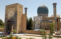 Uzbekistan, Samarkand, Gur-e Amir Mausoleum
