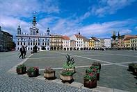 Czech Republic, CeskÚ Budejovice, Premysl Otakar Square