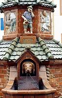 Kohren-Sahlis, Töpferbrunnen