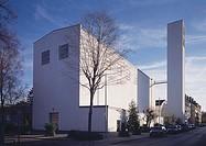 Aachen, St  Fronleichnam, erbaut 1929 von Rudolf Schwarz