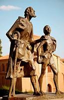 Monument to Lazarillo de Tormes, Salamanca. Castilla-León, Spain