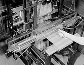 The Jacquard loom was invented by Joseph Marie Jacquard 1752-1834 for weaving complicated patterns using a punched card system