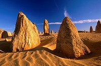 The Pinnacles, Nambung National Park. Western Australia, Australia