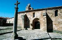 Chapel of Santa Cecilia, Salas de los Infantes. Burgos province, Castilla-León, Spain