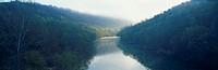 Morning fog on Cumberland River