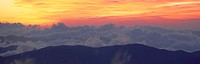Sunrise over Clingman's Dome, Great Smoky Mountain National Park