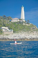 Lighthouse near Saint Jean Cap Ferrat