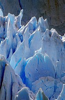 Icy formations of Perito Moreno Glacier