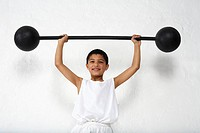 Young Weight Lifter