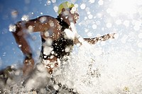 Swimmer in Triathlon