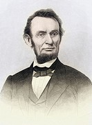 Abraham Lincoln 1809 to 1865 16th President of the United States 1861 to 65