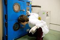 Vacuum Oven. Composites laboratory. Fundacion Inasmet-Tecnalia. Donostia, San Sebastian, Euskadi. Spain.