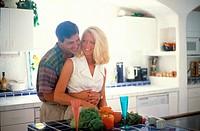 Couple in kitchen MR#79B