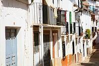 Hornos de Segura street. Jaén province. Spain