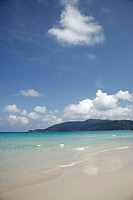 Panoramic view of the sea, Perhentian Besar, Perhentian Islands, Malaysia
