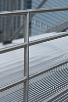 Architectural detail, metal railing