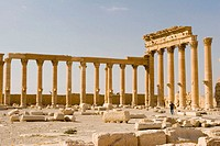 Ancient city of Palmyra. Syria