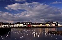 ireland, galway, corrib river