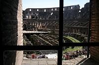 europe, italy, lazio, rome, coliseum