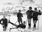 sport, soldati sugli sci