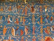 europe, romania, bucovina, voronet monastery