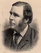 Robert Stawell Ball 1840-1913 Anglo-Irish astronomer, mathematician and populariser of science  Lord Rosse's astronomer at Parsonstown, Royal Astronom...