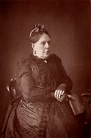 Annie French Hector 1825-1902 who wrote under the name of ´Mrs Alexander´  A minor English novelist, her best known work is ´The Wooing o´t´ 1873  Fro...