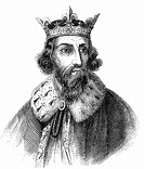 Alfred the Great 849-899 Anglo-Saxon king of Wessex from 871  Defeated Danes at Edington, Wiltshire  Signed treaty of partition and formalisation of D...