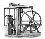 James Watt´s 1736-1819 prototype steam engine ´Old Bess´ c1778  In this engine, which was erected at the Soho works, Birmingham, England, in 1777-78, ...
